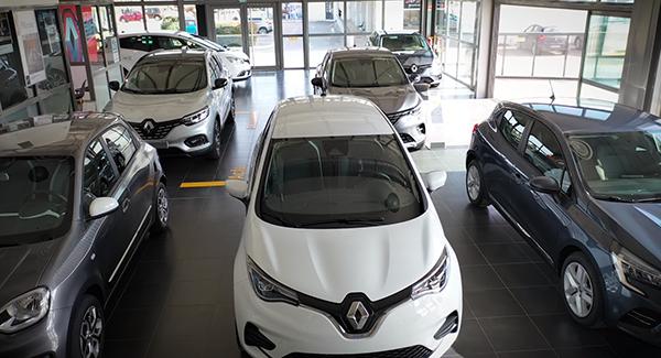 gamme véhicules neufs du garage Renault Sommières
