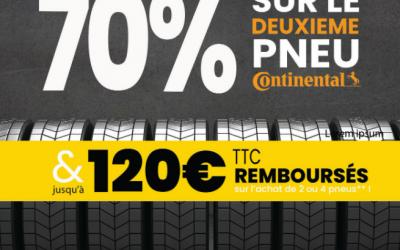promotion sur pneus