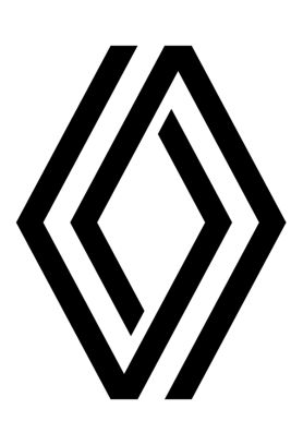 Logo Renault noir