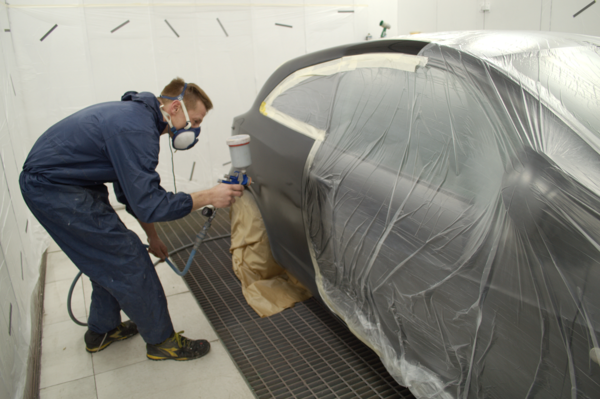 Atelier peinture carrosserie
