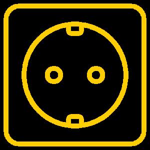 icone prise électrique pour borne de recharge